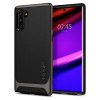 Силиконов калъф кейс Spigen NEO HYBRID за Samsung Note 10, Gunmetal