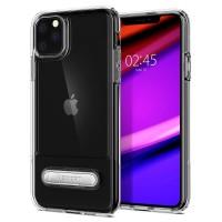 Силиконов калъф кейс Spigen Slim Armor Essential за iPhone 11 Pro прозрачен