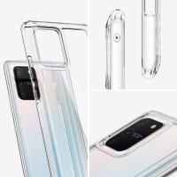 Силиконов калъф кейс Spigen Ultra Hybrid Samsung Galaxy S10 Lite, прозрачен
