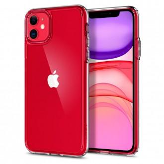 Силиконов калъф кейс Spigen Ultra Hybrit Crystal Clear за iPhone 11 прозрачен