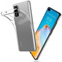 Силиконов калъф кейс TECH-PROTECT FLEXAIR за Huawei P40 ,прозрачен