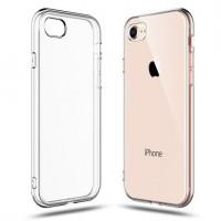 Силиконов калъф кейс TECH-PROTECT FLEXAIR за iPhone 7 / 8 / SE 2020 ,прозрачен
