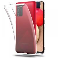 Силиконов калъф кейс TECH-PROTECT FLEXAIR за Samsung A02s, прозрачен