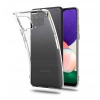 Силиконов калъф кейс TECH-PROTECT FLEXAIR за Samsung A22 LTE 4G, прозрачен
