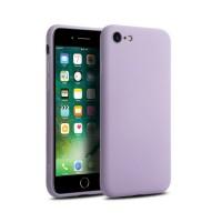 Силиконов калъф кейс TECH-PROTECT Icon за iPhone SE 2020 / iPhone 7 / iPhone 8, лилав