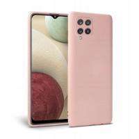 Силиконов калъф кейс TECH-PROTECT icon за Samsung A12, розов
