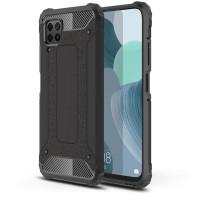 Силиконов калъф кейс TECH-PROTECT за Huawei P40 Lite противоударен, черен