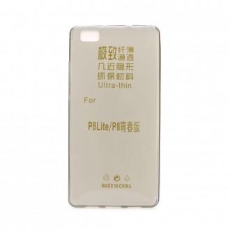 Силиконов калъф кейс за Huawei G7 0.3 мм. черен мат
