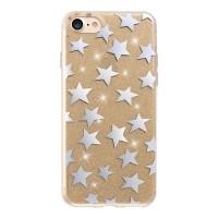 Силиконов калъф кейс за Huawei P10 Lite Glitter Stars Gold