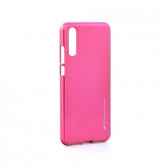 Силиконов калъф кейс за Huawei P20  Mercury Jelly Case тъмно розов