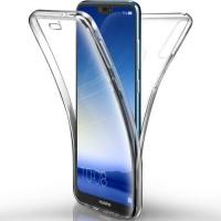 """Силиконов калъф кейс за Huawei P20 Pro 360"""" прозрачен"""