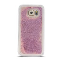 Силиконов калъф кейс за Huawei P9 Lite Mini с течен гел розово злато Pearl