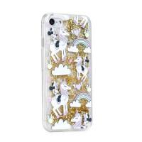 Силиконов калъф кейс за iPhone 6 / 6S Disney Minnie Mouse гел златен