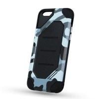 Силиконов калъф кейс за iPhone 6 / 6S противоударен камуфлаж gray