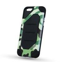 Силиконов калъф кейс за iPhone 6 Plus / 6S Plus противоударен камуфлаж green