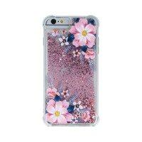 Силиконов калъф кейс за iPhone 7 / 8 течен гел Shock Proof Flower 1