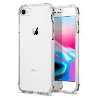 Силиконов калъф кейс за iPhone 7 / iPhone 8 SPIGEN Crystal Shell