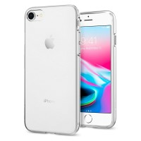 Силиконов калъф кейс за iPhone 7 / iPhone 8 SPIGEN Liquid Crystal 2