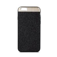 Силиконов калъф кейс за iPhone 7 Plus / iPhone 8 Plus Beeyo Glossy черен