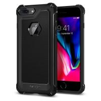 Силиконов калъф кейс за iPhone 7 Plus / iPhone 8 Plus Spigen Rugged Armor Extra Black