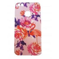 Силиконов калъф кейс за iPhone 7/iPhone 8 розово фламинго