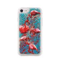 Силиконов калъф кейс за iPhone X течен гел Flamingo