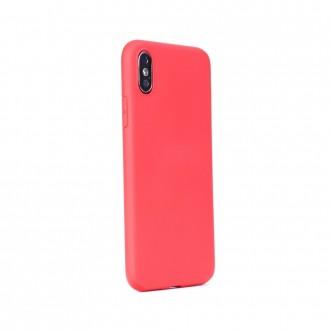 Силиконов калъф кейс за iPhone XR Soft Magnet червен с магнит