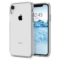 Силиконов калъф кейс за iPhone XR SPIGEN Liquid прозрачен