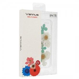Силиконов калъф кейс за iPhone XR Vennus Real Flower Camila
