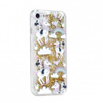 Силиконов калъф кейс за iPhone XS Max , Disney Minnie Mouse гел златен