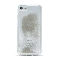 Силиконов калъф кейс за iPhone XS Max с течен гел сив Pearl