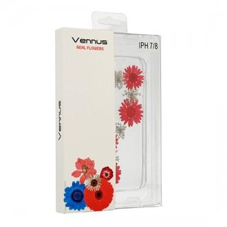 Силиконов калъф кейс за iPhone XS Max Vennus Real Flower Flora