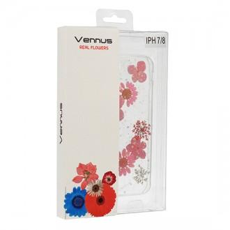 Силиконов калъф кейс за iPhone XS Max Vennus Real Flower Julia