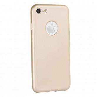 Силиконов калъф кейс за Nokia 3.1 Jelly Case Flash Mat златен