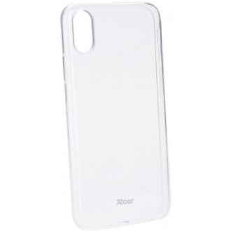 Силиконов калъф кейс за Nokia 3.1 Plus Jelly Roar прозрачен