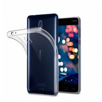Силиконов калъф кейс за Nokia 5.1 0.5 мм прозрачен