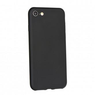 Силиконов калъф кейс за Nokia 7 Plus Jelly Case Flash Mat черен