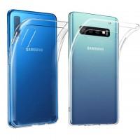 Силиконов калъф кейс за Samsung A40 1mm прозрачен