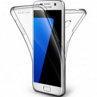 Силиконов калъф кейс за Samsung G930 S7 360 прозрачен