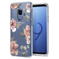 Силиконов калъф кейс за Samsung G960 S9 SPIGEN Liquid Crystal Blossom Flower
