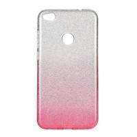 Силиконов калъф кейс за Samsung Galaxy A10 с брокат, розов