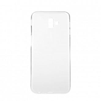 Силиконов калъф кейс за Samsung J6 Plus Ultra Slim 0,5 мм. прозрачен