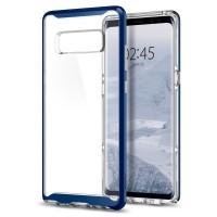 Силиконов калъф кейс за Samsung Note 8 Spigen Neo Hybrid Crystal Deep Sea Blue