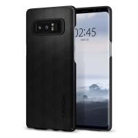 Силиконов калъф кейс за Samsung Note 8 Spigen Thin Fit Matte Black