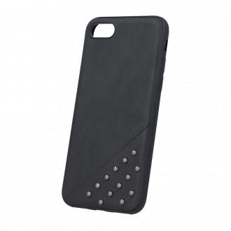 Силиконов калъф кейс за Samsung S7 Edge G935 черна кожа с капси