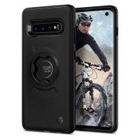 Силиконов калъф кейс за Spigen Gearlock Cf201 Bike Mount за Samsung Galaxy S10 Black