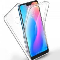 """Силиконов калъф кейс за Xiaomi Mi 8 Lite 360"""" прозрачен"""