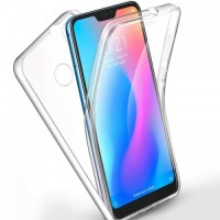 "Силиконов калъф кейс за Xiaomi Mi A2 Lite / Redmi 6 Pro 360"" прозрачен"