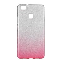 Силиконов калъф кейс за Huawei P9 Lite Mini с брокат розов