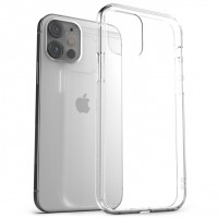 Силиконов калъф за iPhone 12 Mini, 0.5mm прозрачен